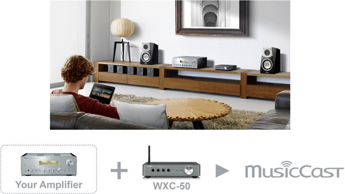 Amply Yamaha WXC-50 đa năng