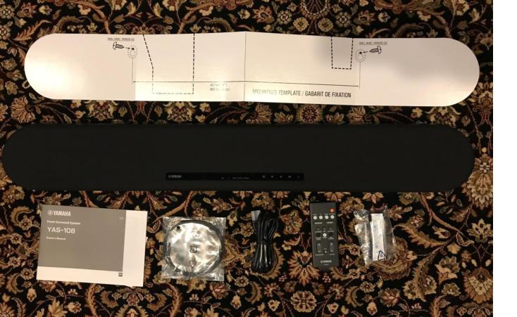 Loa Yamaha YAS-108 cho gia đình